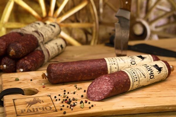 колбаса сушеная со свининой Ранчо